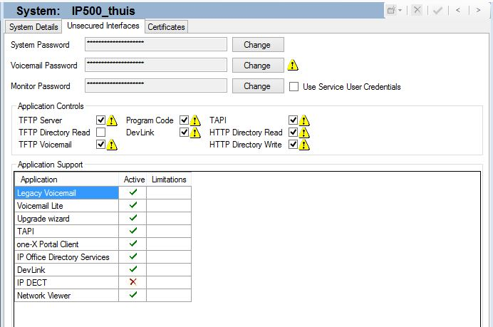 IP Office 9 1 security settings – IP Office Assistance