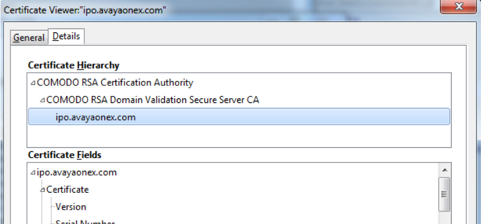 Create 3rd Party Certificate For Ip Office Ip Office Assistance