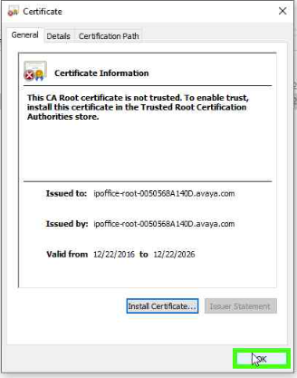 Equinox on IPO R11 with Self Signed Certificate – IP Office